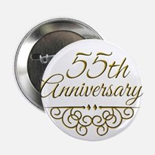 """55th Anniversary 2.25"""" Button"""