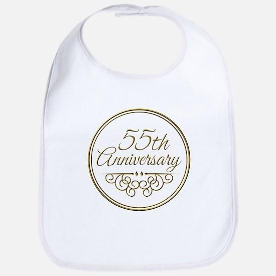 55th Anniversary Bib