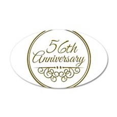 56th Anniversary Wall Decal