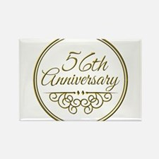 56th Anniversary Magnets