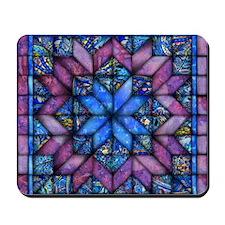 Purple Quilt Mousepad