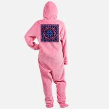 Purple Quilt Footed Pajamas