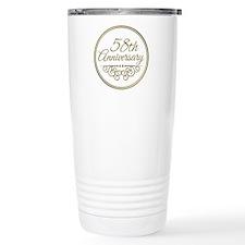 58th Anniversary Travel Mug