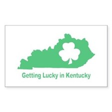 Getting Lucky in Kentucky Decal