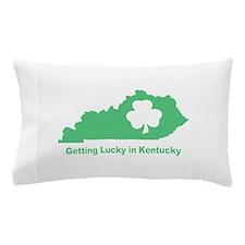 Getting Lucky in Kentucky Pillow Case
