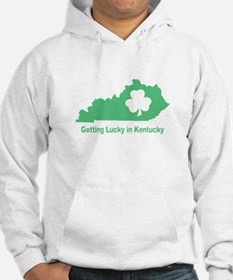 Getting Lucky in Kentucky Hoodie