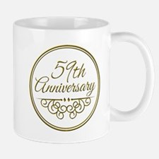 59th Anniversary Mugs