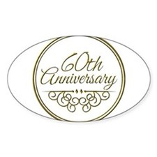 60th Anniversary Decal