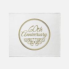 60th Anniversary Throw Blanket