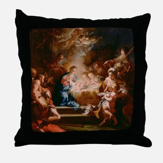 Baby Jesus Throw Pillow