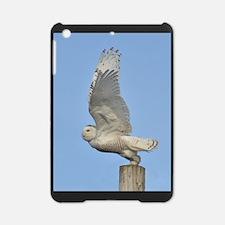 Snowy taking flight iPad Mini Case