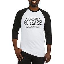 It took me 60 years 60th Birthday Baseball Jersey