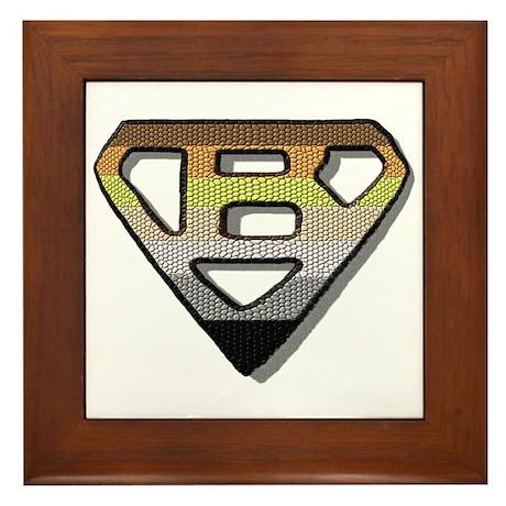 BEAR PRIDE SUPER BEAR/TILE Framed Tile