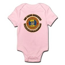 USMC - 1st Radio Battalion With text Infant Bodysu