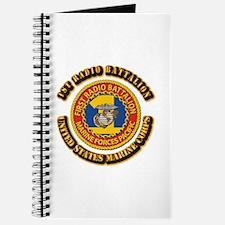 USMC - 1st Radio Battalion With text Journal