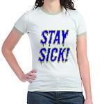Stay Sick! Jr. Ringer T-Shirt