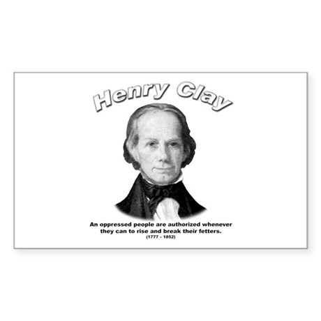 Henry Clay 01 Rectangle Sticker