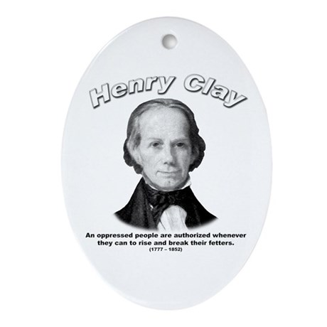 Henry Clay 01 Oval Ornament