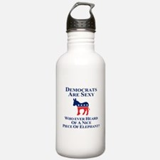 Democrats Are Sexy Water Bottle