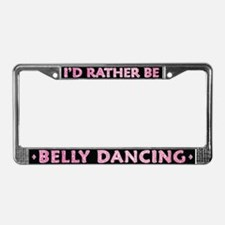 Belly Dance License Plate Frame