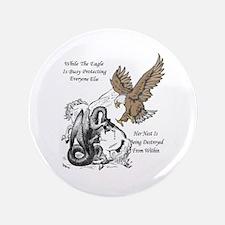 The Eagle 3.5&Quot; Button