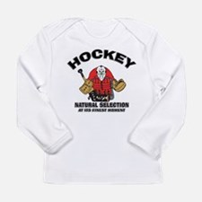 Hockey Goalie Long Sleeve Infant T-Shirt