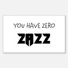 ZAZZ 1.0 Rectangle Decal