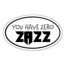 ZAZZ 1.0 Oval Decal