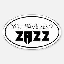 ZAZZ 1.0 Oval Decal