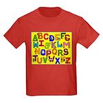 Alphabet Kids Dark T-Shirt