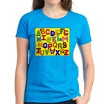 Alphabet Women's Dark T-Shirt