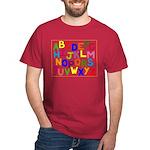 Alphabet Dark T-Shirt
