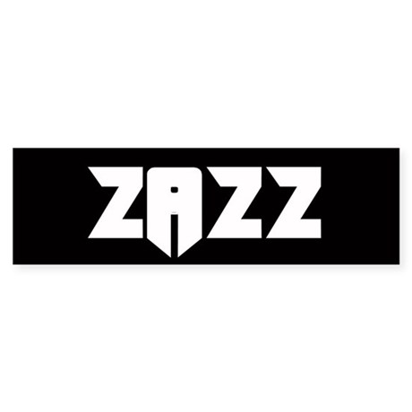 ZAZZ 2.0 Bumper Sticker