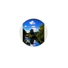 Reflection in the River e2 Mini Button