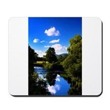 Reflection in the River e2 Mousepad