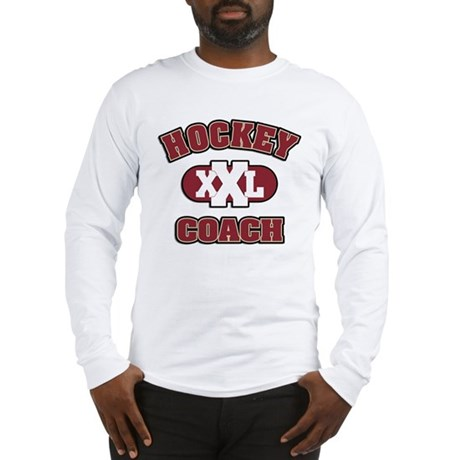 Hockey Coach Long Sleeve T-Shirt