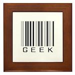 Barcode Geek Framed Tile