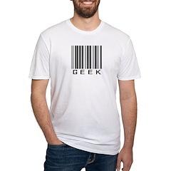 Barcode Geek Fitted T-Shirt