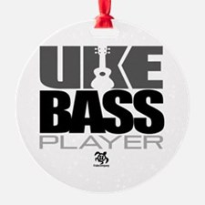 Uke Bass Player Ornament