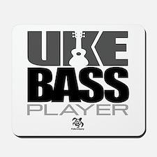 Uke Bass Player Mousepad