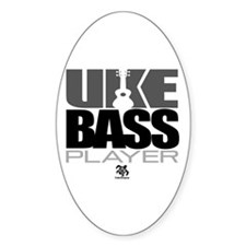 Uke Bass Player Decal