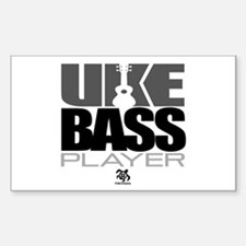 Uke Bass Player Decal