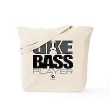 Uke Bass Player Tote Bag