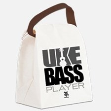 Uke Bass Player Canvas Lunch Bag