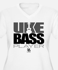 Uke Bass Player Plus Size T-Shirt