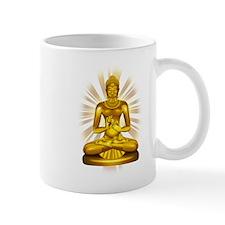 Buddha Siddhartha Gautama Golden Statue Mugs