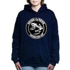 Desert Frog - Never Forgive B-W Hooded Sweatshirt