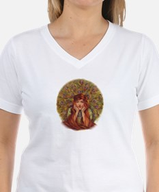 Peacock Girl T-Shirt