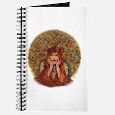 Peacock Girl Journal
