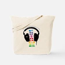 psytrance headphones Tote Bag
